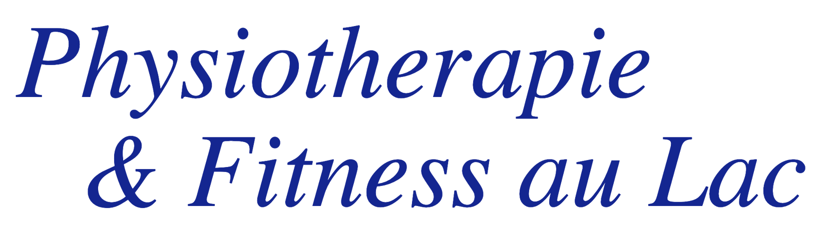 Physiotherapie & Fitness au Lac